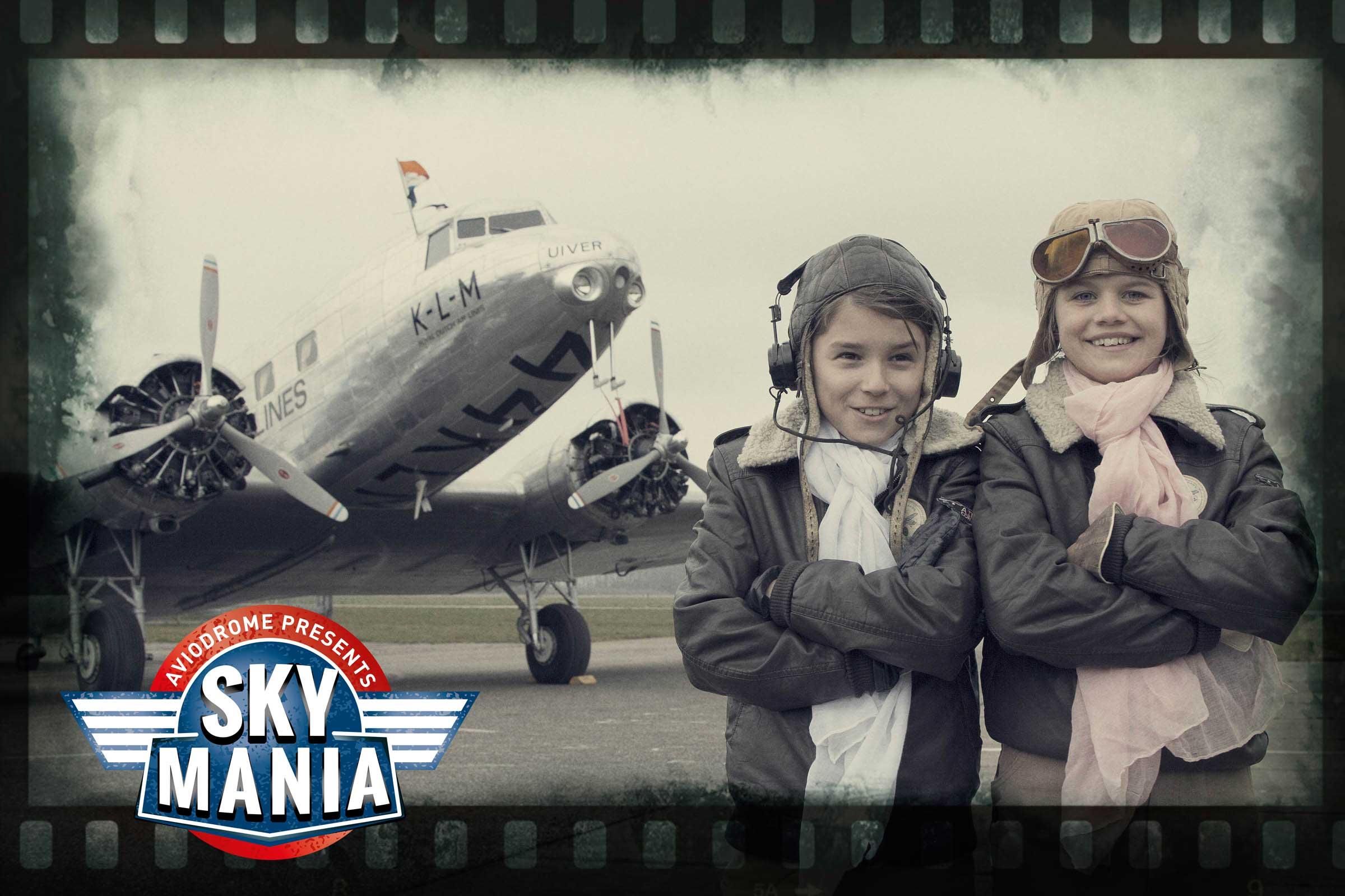 Skymania nu te zien bij Aviodrome