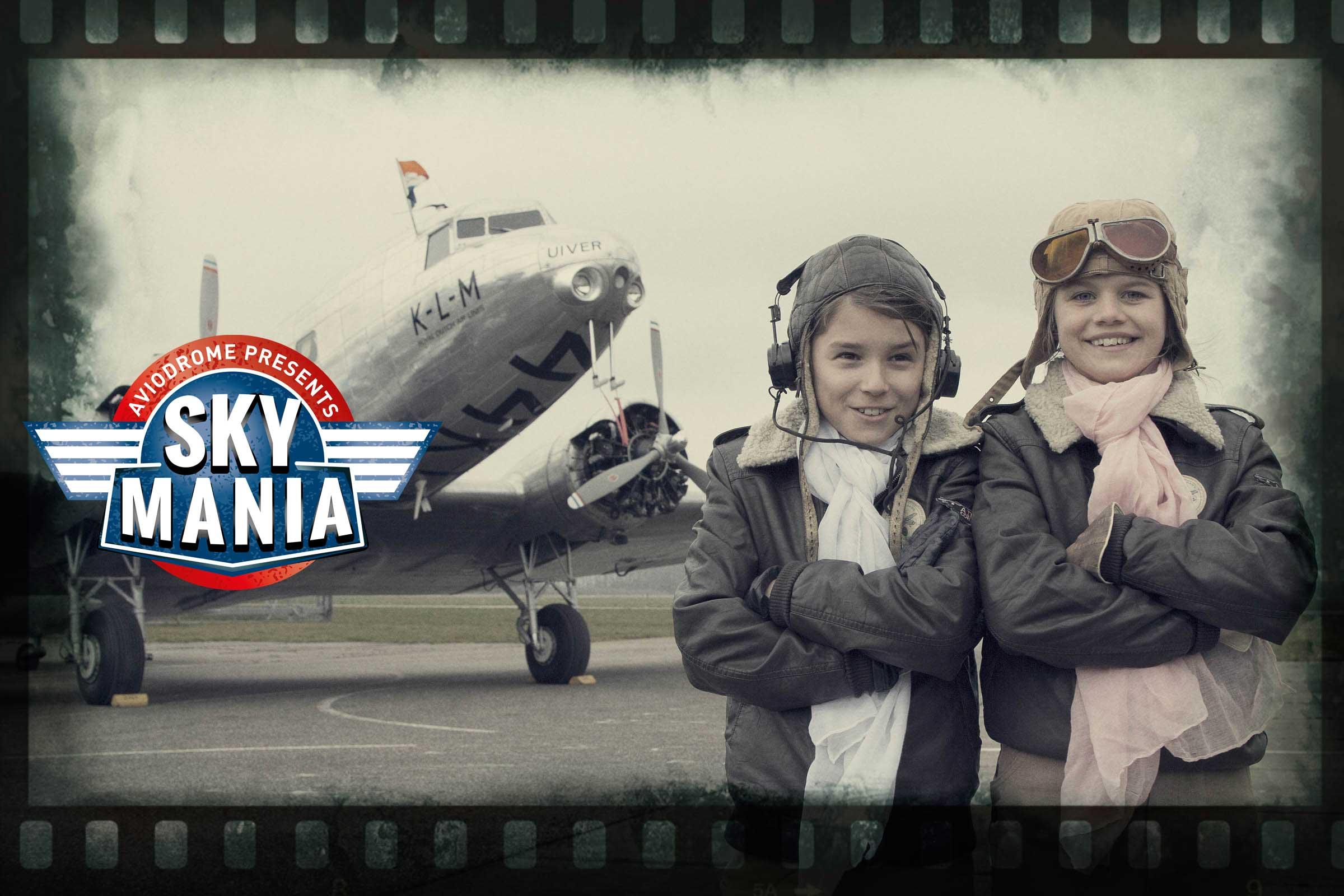 Beleef Skymania bij Aviodrome