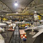 overzicht hangar aviodrome lelystad airport