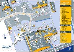 Plattegrond Aviodrome
