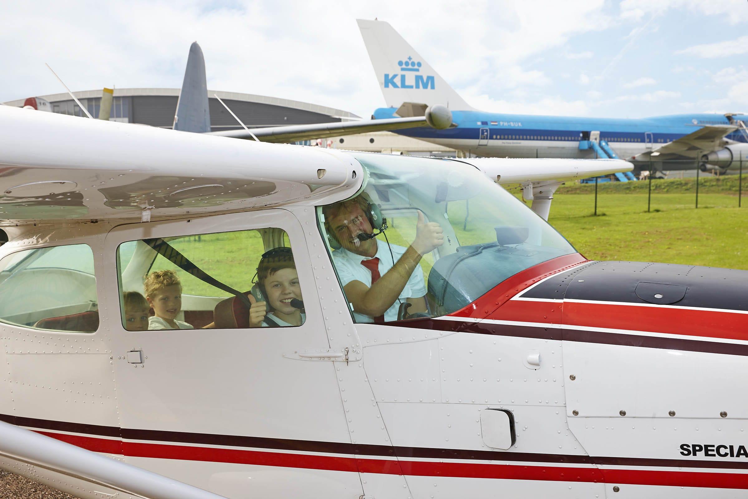 Rondvluchten Aviodrome