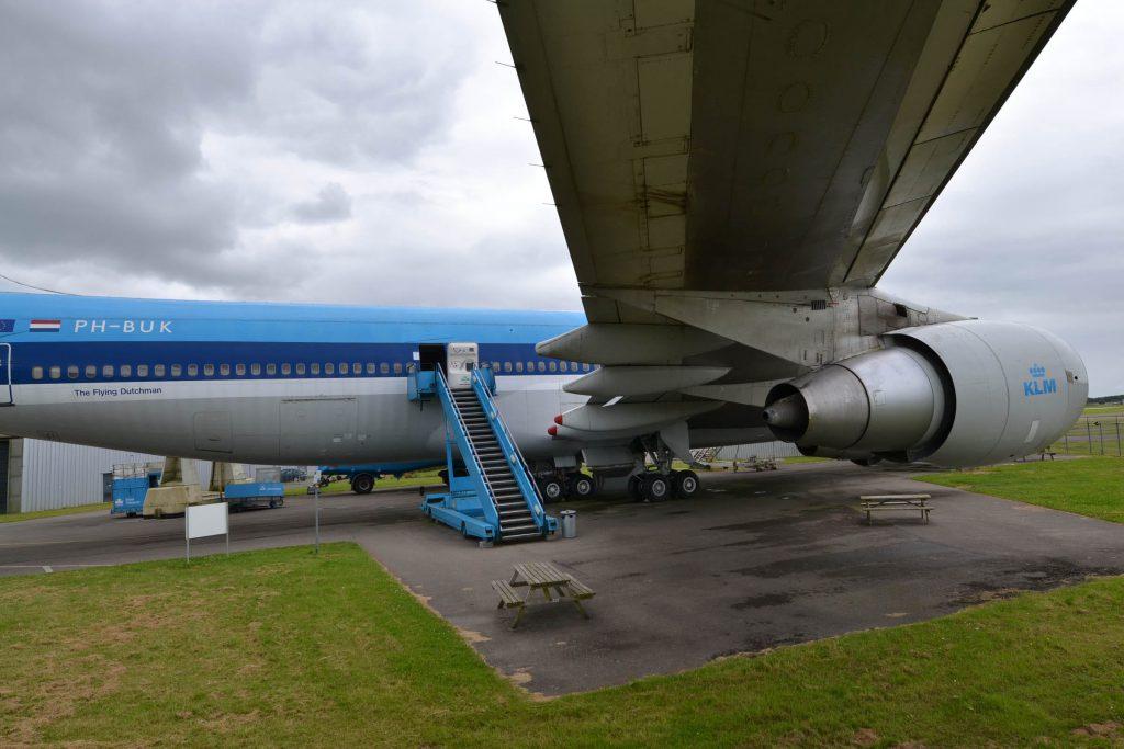 vliegtuig boeing 747 aviodrome lelystad airport