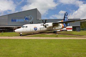 Aviodrome entrance - Aviation theme park Netherlands