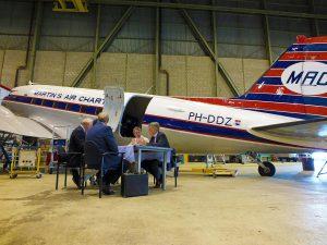 Aviodrome neemt DC-3 over van DDA