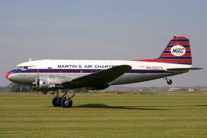 Aviodrome neemt DC3 over van DDA