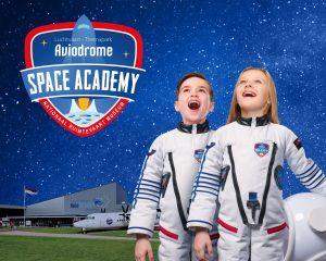 Kom tijdens de herfstvakantie naar de Space Academy in Aviodrome!
