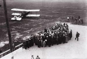 De DH-9 op Schiphol (1921) KLM/MAI