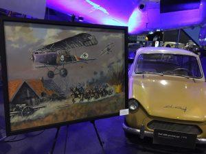 luchtvaartkunst expositie schilderij
