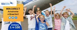 Deel en win Aviodrome tickets!