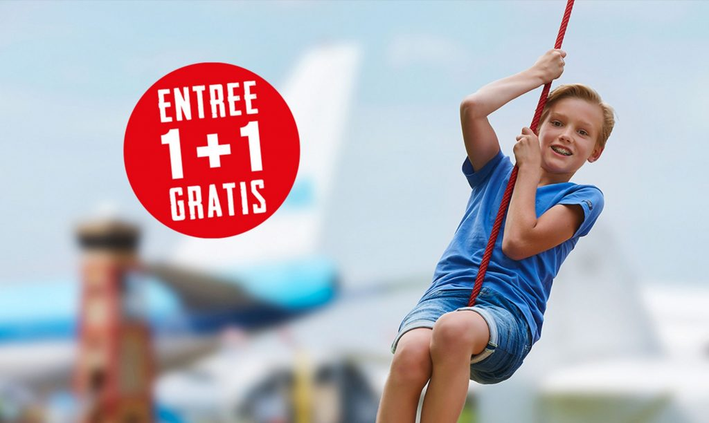 Kom tijdens de lerarenstaking op 15 maar 2019 naar Aviodrome en krijg je tweede kaartje gratis!