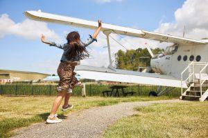 aviodrome-jongetje-vliegtuig